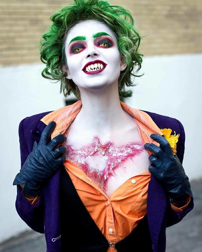 Джокер девушки, кино, комиксы, косплей