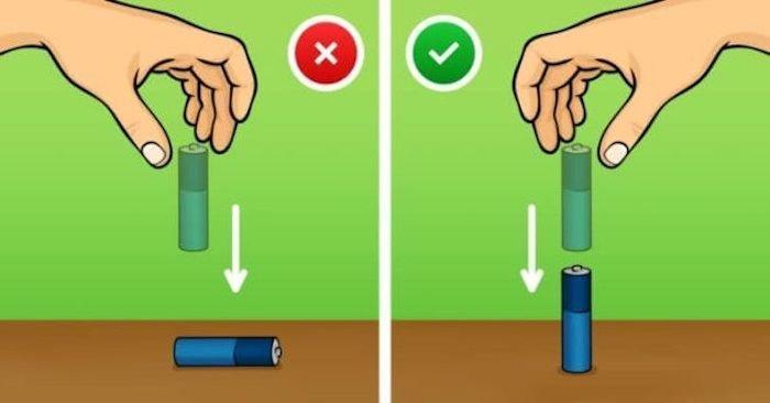 8.    Проверить, заряжена ли батарейка знания, факты, хитрости