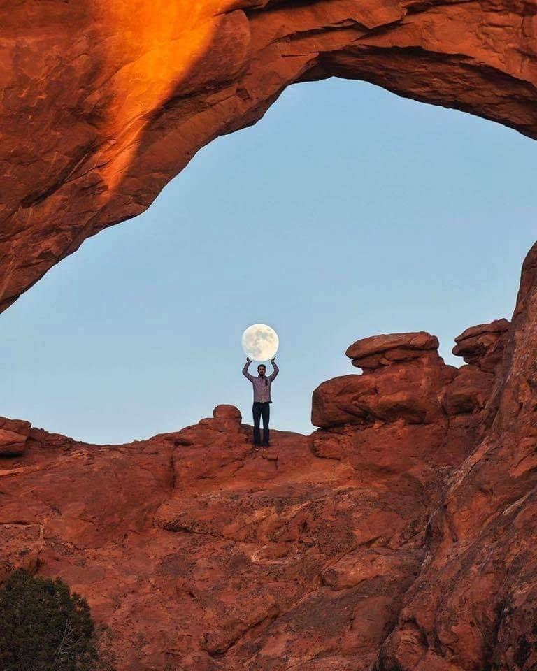 Поймал Луну день, животные, кадр, люди, мир, снимок, фото, фотоподборка