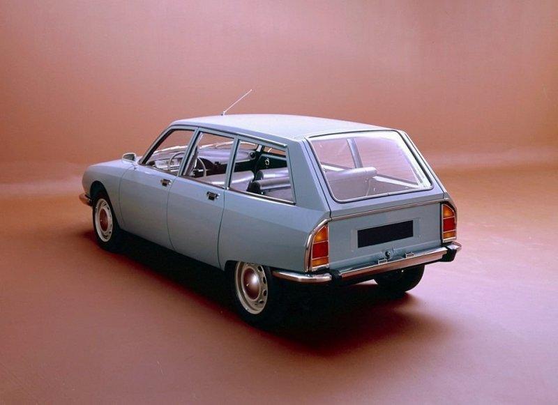 Citroën GS / GSA 1970 - компактный семейный автомобиль citroen, citroen gs, авто, автоистория, автомобили, олдтаймер, ретро авто, технологии