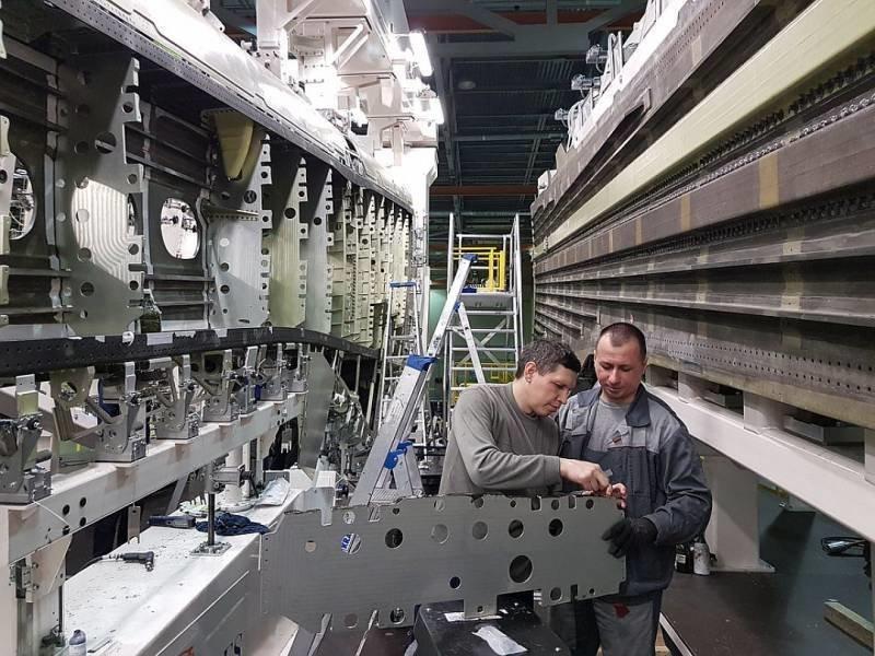 Сейчас строится в России. Пост номер 3. Ил-114-300 ИЛ-114-300, самалёт, фоторепортаж