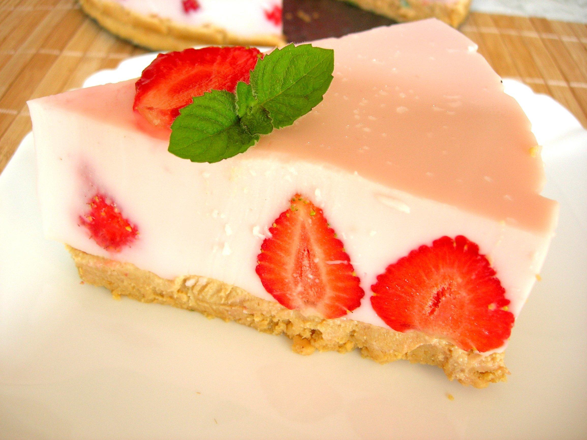 Йогуртовый торт без выпечки рецепт с фото