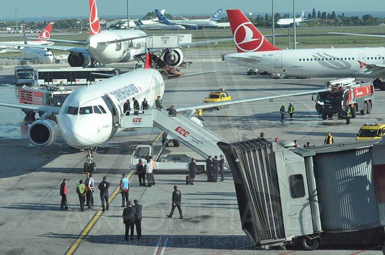 Оба самолёта были сняты с рейсов для проведения расследования ynews, авиация, аэропорт, видео, самолет, стамбул, столкновение, турция
