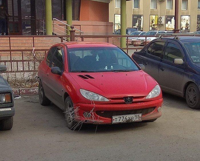 Машина попала в аварию? Не беда! поможет кабельная стяжка! Лайфхак, кабельная стяжка, полезности, прикол, стяжка, хитрости