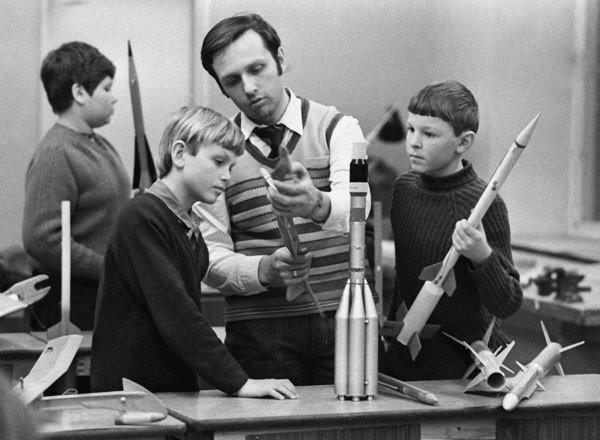 «Счастливое детство в СССР» Кружок ракетного моделирования СССР, история, фотографии
