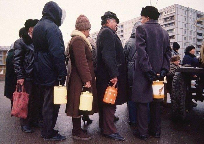В каждой советской семье был бидон для молока СССР, история, фотографии