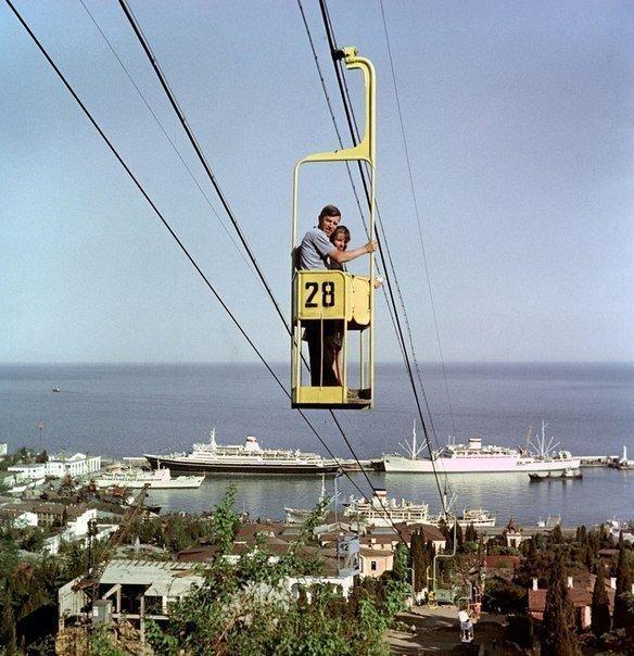 Ялта, 1968 год СССР, история, фотографии