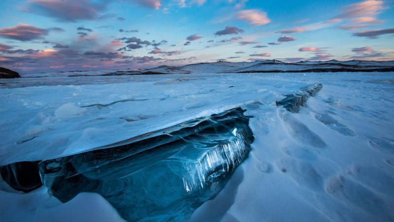 Ледяная толща Зимняя сказка, байкал, зима, красота, лед, снег, фото, фоторепортаж