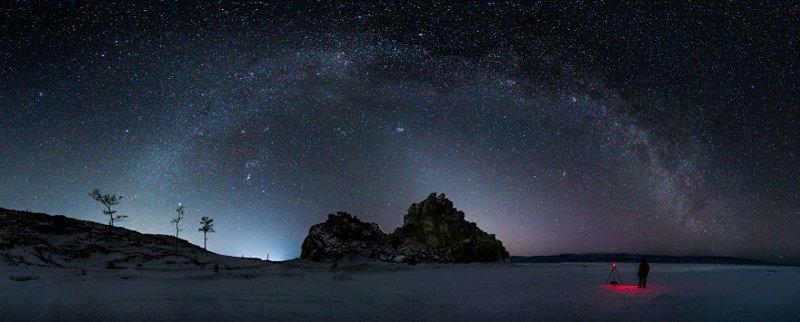 Сибирские ночи Зимняя сказка, байкал, зима, красота, лед, снег, фото, фоторепортаж