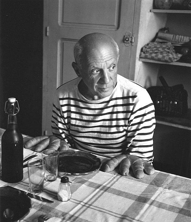 Роберт Доисно - Les pains de Picasso, Vallauris 1952 Весь Мир в объективе, история, фотография