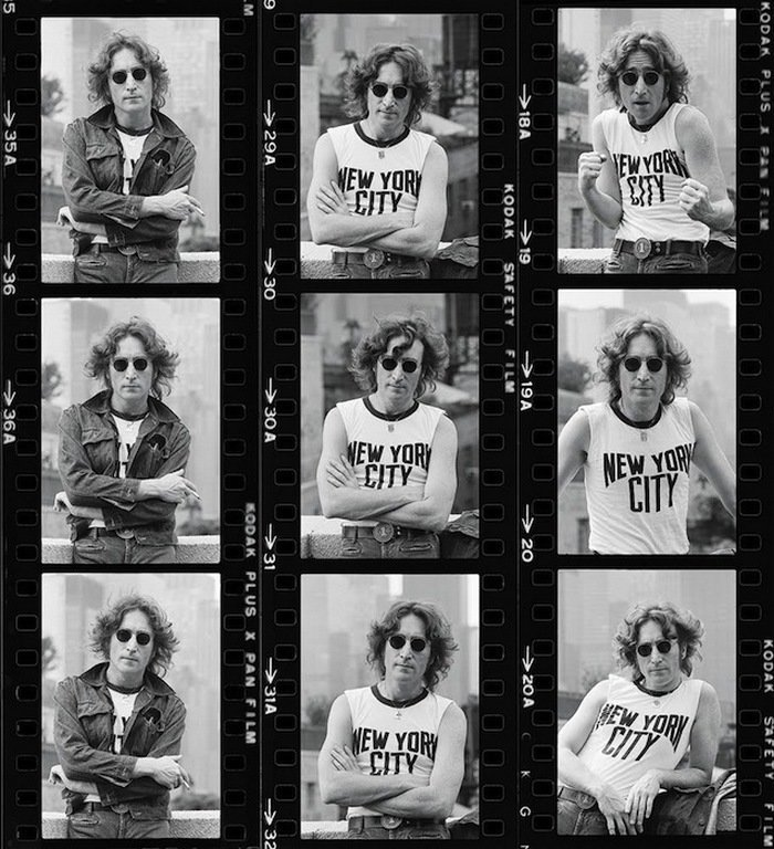 Боб Грюн - Джон Леннон, 29 августа 1974 года Весь Мир в объективе, история, фотография