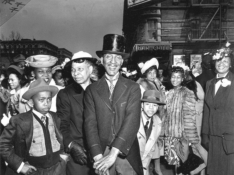 Weegee - Пасхальное воскресенье в Гарлеме, Нью-Йорк 1940 г. Весь Мир в объективе, история, фотография
