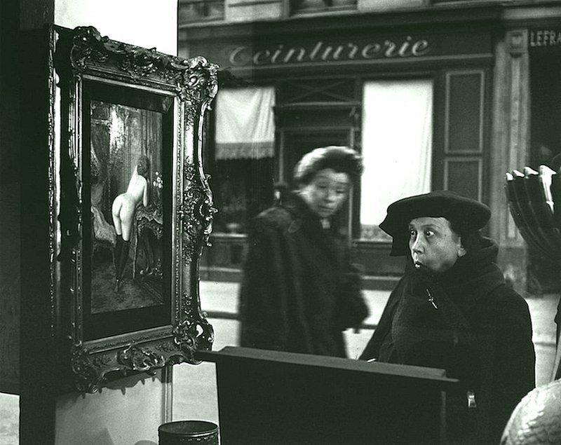 Роберт Доисно - Ла Дам Индинье, Рю де Сена, Париж, 1948 Весь Мир в объективе, история, фотография