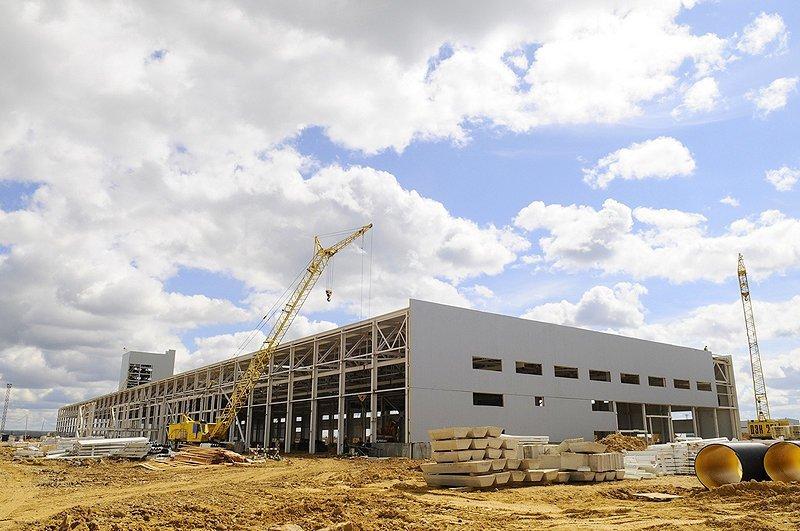 В Арцахе строится крупный завод