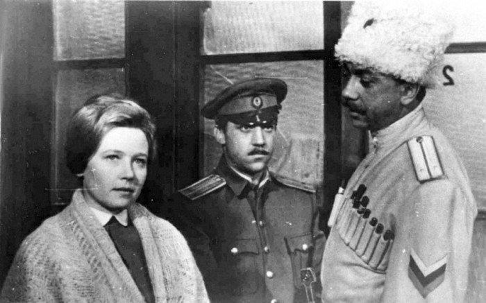 Экранизация гражданской войны в России - фильм «Служили два товарища», 1967 год  актеры, кадр, кино, люди, фильм, фото