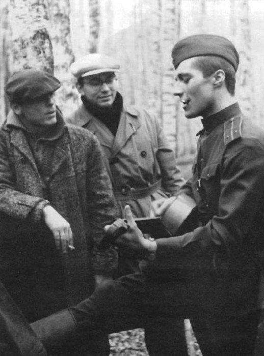 Шедевр советского кинематографа - «Иваново детство», 1962 год актеры, кадр, кино, люди, фильм, фото