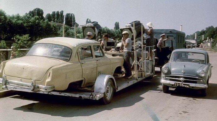 Архивные фотографии со съемочных площадок известных советских фильмов актеры, кадр, кино, люди, фильм, фото