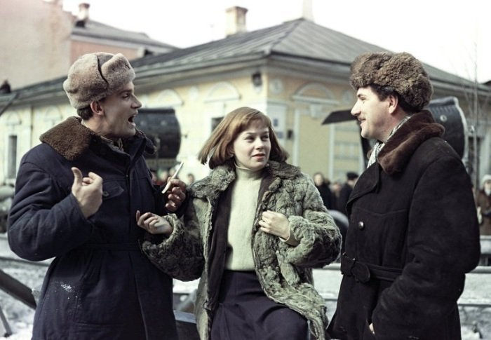 Один из лучших фильмов о лётчиках «Чистое небо», 1961 год  актеры, кадр, кино, люди, фильм, фото