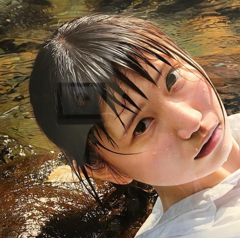 Когда гиперреализм — это преуменьшение. Картины японской художницы не отличить от фотографий гиперреализм, искусство, картина, красота, рисунок