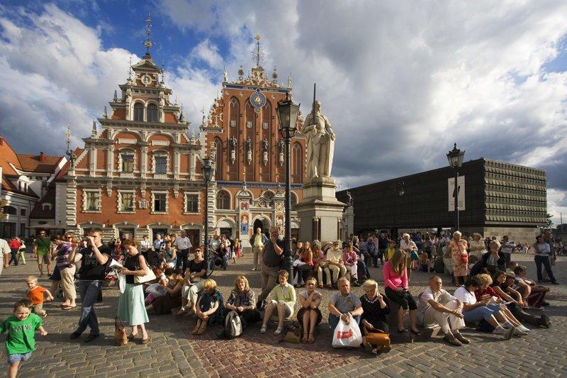 Туристозамещение в Латвии латвия, прикол, сделай сам, туризм, юмор