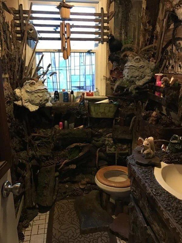 2. В лесу  ошибка, подборка, ремонт, строитель, туалет, ужас, унитаз