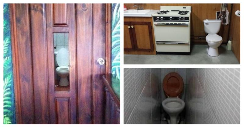 15 настолько ужасных туалетов, что лучше перетерпеть ошибка, подборка, ремонт, строитель, туалет, ужас, унитаз