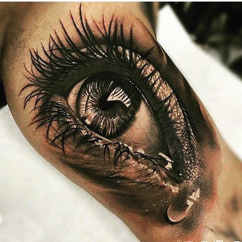 35 невероятно реалистичных татуировок, от которых мурашки бегут по коже крутые татуировки, реализм, тату, татуировки