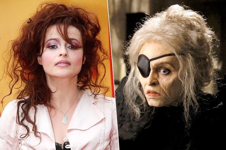 Хелена Бонем Картер «Крупная рыба» актеры, внешность, грим, кино, ролы, старость, фильм