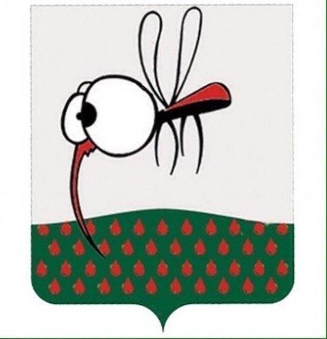 И придумали городу новый герб в мире, комары, люди, насекомые, нашествие