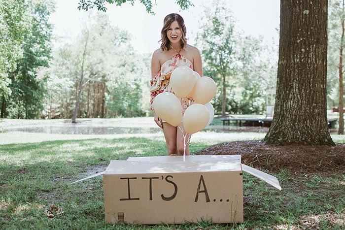 Что же находится в коробке с надписью: «Это…»? истории, люди, милота, сюрприз