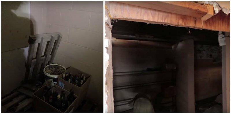Блогеры обнаружили секретную комнату, которая могла принадлежать маньяку ynews, Заброшка, видео, интересное, комната, находка, странное