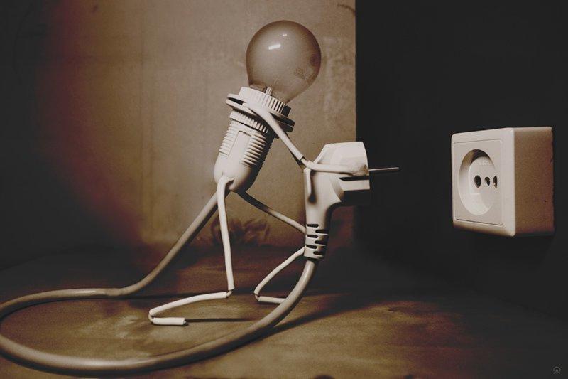 Американцы и электричество американцы, электричество, юмор