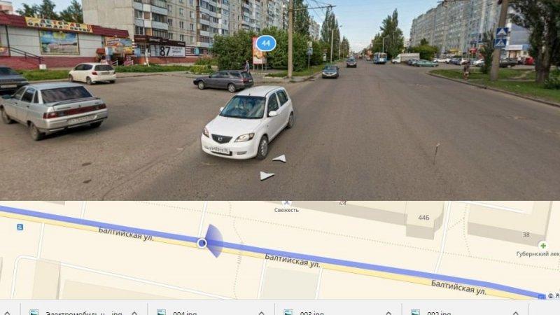 Барнаул,  Балтийская 44 авария, авто, авто авария, видео, дтп, перепутал педали, прикол