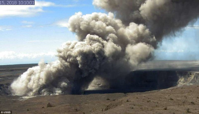 Свежие кадры с веб-камер, установленных вблизи вулкана ynews, Килауэа, вулкан, гавайи, извержение вулкана, новости, стихийные бедствия, фото