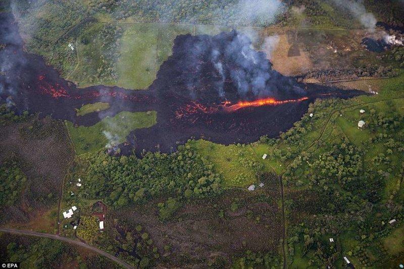 """""""В любое время активность вулкана может стать более взрывоопасной"""", - сообщает геологическая служба США ynews, Килауэа, вулкан, гавайи, извержение вулкана, новости, стихийные бедствия, фото"""