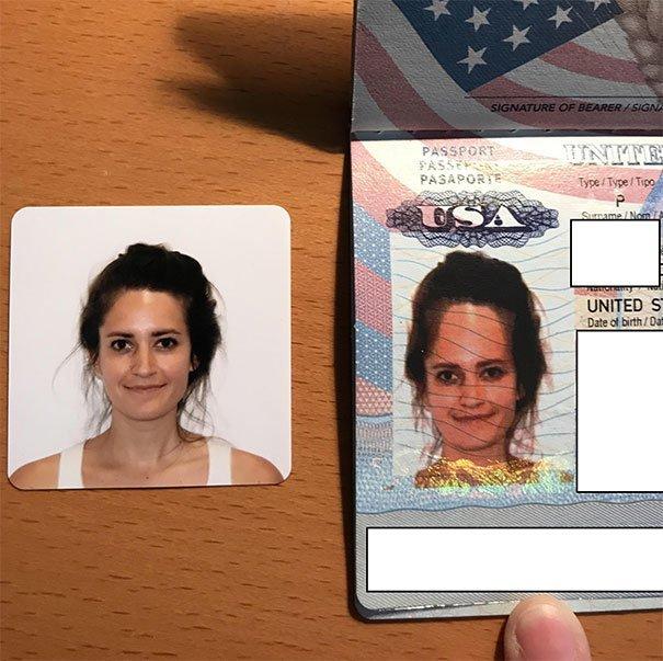 Шикарное фото на паспорт забавно, не повезло, неудачи, плохой день, подборка, провал, фейлы, фото