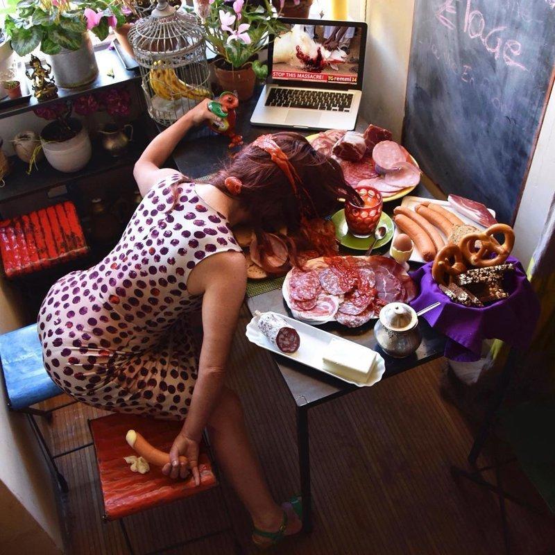 Падай, но поднимайся: философский фотопроект итальянского фотографа о жертвах «падения» жертвы падения, сандро джордано, фотография, фотопроект