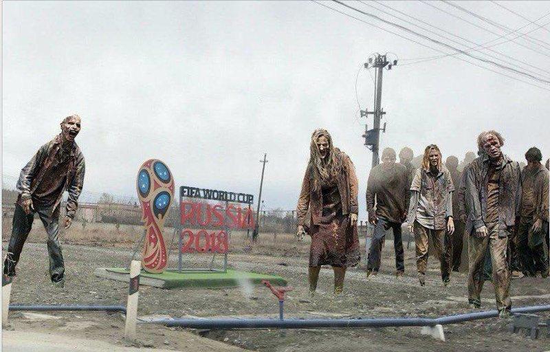Зомби возвращаются ynews, баннер, екатеринбург, реклама, чм-2018