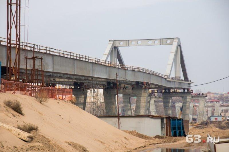 Сейчас строится в России. Пост номер 12. Фрунзенский мост (Самара) Фрунзенский мост, самара, фоторепортаж