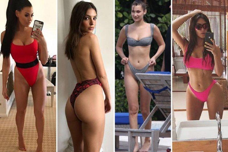 Плавки вверх! Знаменитости демонстрируют новую пляжную моду бикини, знаменитости в бикини, купальники, мода, наша сила в плавках, пляжная мода, светские девушки, тренд сезона