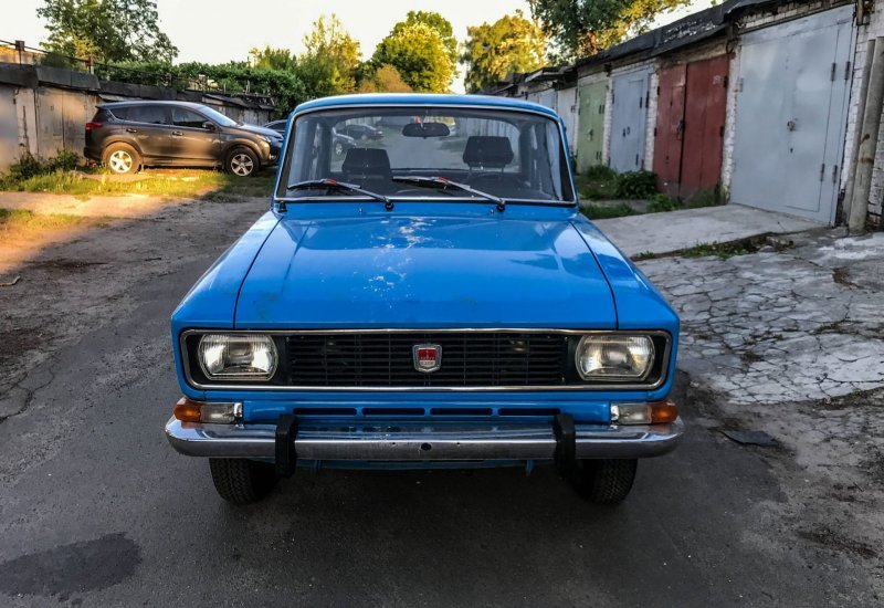 Гаражная находка: Москвич-2140 1978 года с маленьким пробегом авто, автомобили, азлк, капсула времени, москвич, москвич-2140, олдтаймер, ретро авто
