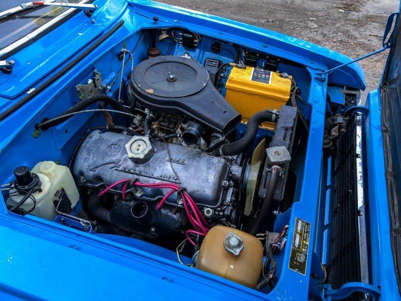 УЗАМ-412 мощностью 75 л.с. позволял машине разгонятся от 0 до 100 км/ч за 19 секунд авто, автомобили, азлк, капсула времени, москвич, москвич-2140, олдтаймер, ретро авто