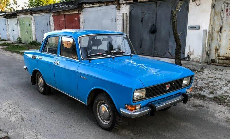 Этой машине ровно 40 лет авто, автомобили, азлк, капсула времени, москвич, москвич-2140, олдтаймер, ретро авто