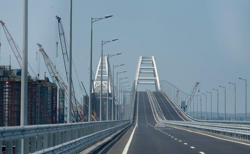 МИД Канады осудили Россию за строительство Крымского моста ynews, Крымский мост, интересное, канада, крым, мост, фото