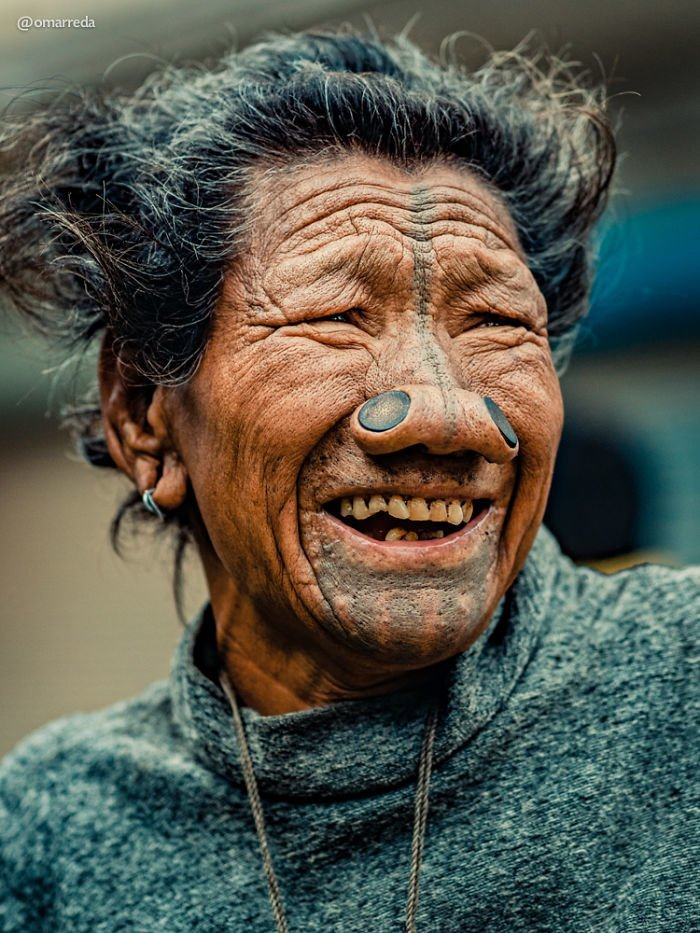 5. апатани, женщина, индия, народ, портрет, традиция, фотография, фотомир