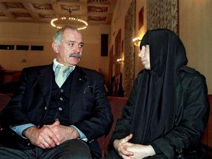 Никита Михалков, 1999 год 90-е годы, СССР, жизнь, ностальгия, фото