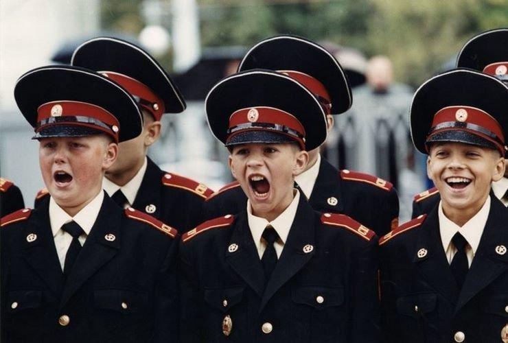 Кадеты, конец 1990-х 90-е годы, СССР, жизнь, ностальгия, фото