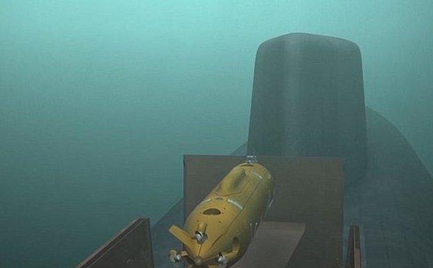 """Россия показала грозное подводное оружие """"Посейдон"""", ynews, Российское оружие, новости, новые вооружения, подводная лодка, подводный дрон, ядерный беспилотник"""