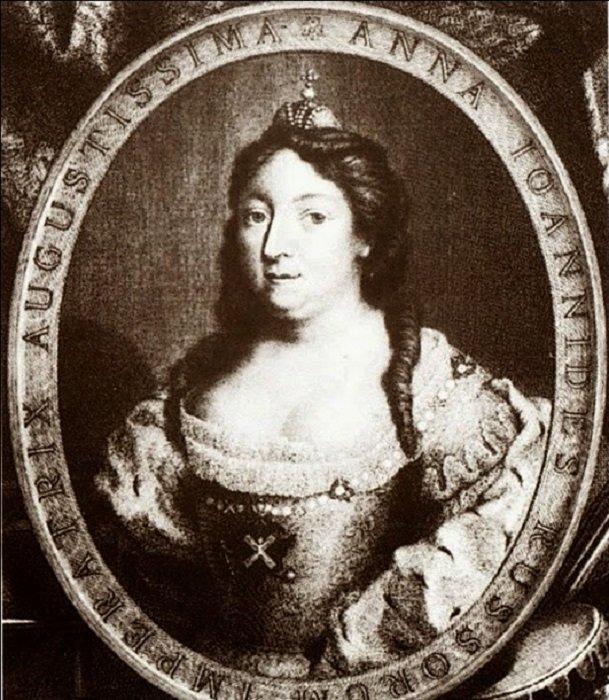 Российская императрица Анна Иоанновна история, россия, царица