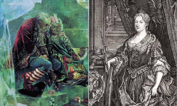 Садистские забавы императрицы история, россия, царица